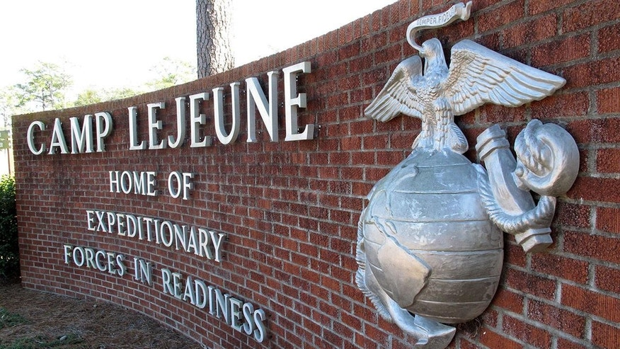 Camp Lejeune file pic