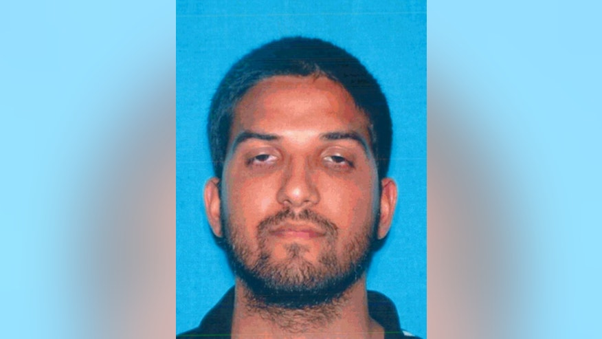 This undated photo provided by the California Department of Motor Vehicles shows San Bernardino, Calif., shooter Syed Rizwan Farook. Federal prosecutors say multiple people connected to Farook were arrested in Southern California on Thursday, April 28, 2016, in what prosecutors say is a marriage fraud conspiracy. (California Department of Motor Vehicles via AP, File)