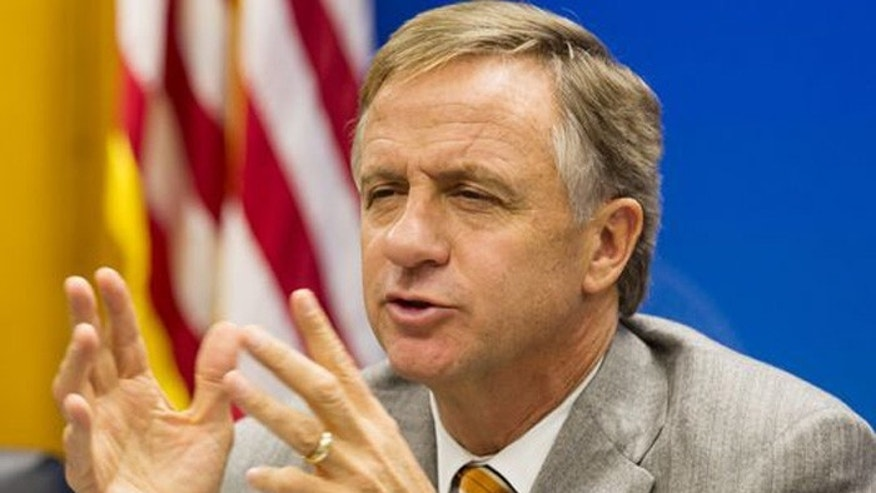 Tennessee Republican Gov. Bill Haslam