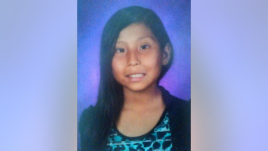 This undated photo provided by the New Mexico State Police showing Ashlynn Mike who authorities are seeking the publics help in finding. Mike who was last seen late Monday, May 2, 2016 on Navajo Route 36, was abducted by an unknown Native American man driving a maroon van. Authorities have issued an Amber Alert for the 11-year-old girl reportedly abducted on the Navajo Nation in San Juan County in northwestern New Mexico. (New Mexico State Police via AP)