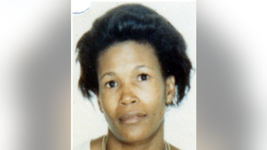 This undated photo provided by the Los Angeles County District Attorney's office shows Debra Jackson, who was shot three times in the chest and her body was found under a carpet remnant in an alley on Aug. 10, 1985. Lonnie Franklin Jr. was convicted of killing Jackson and several other women on Thursday, May 5, 2016. (Los Angeles County District Attorney via AP)