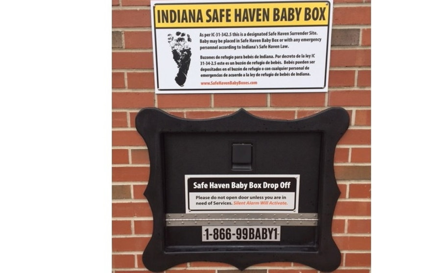 Indiana Safe Haven boxes