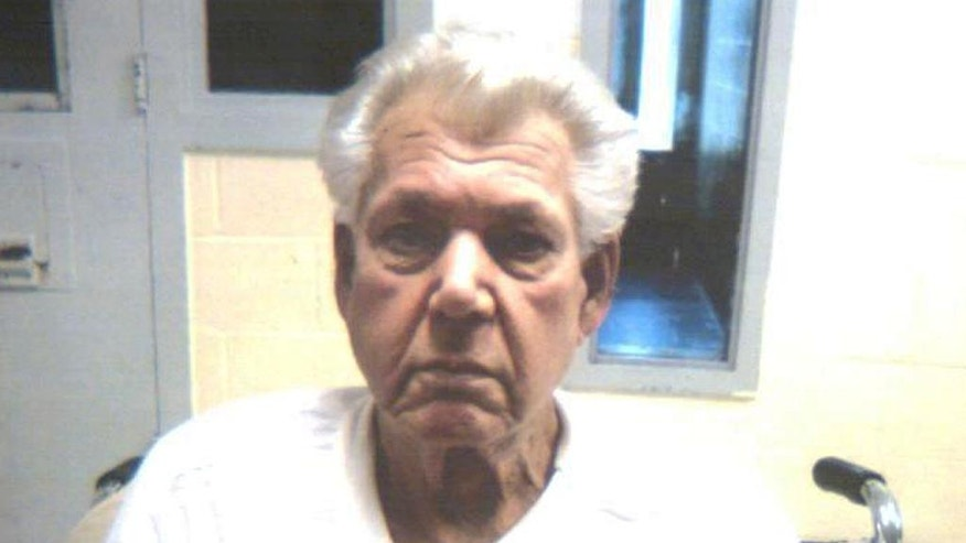 This photo released by the Connecticut Department of Correction shows Robert Stackowitz, 71, arrested Monday, May 9, 2016 by U.S. Marshals and Connecticut State Police in Sherman, Conn., 48 years after escaping from a Georgia prison work camp. (Connecticut Department of Correction via AP)