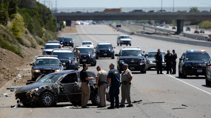 Authorities move to stop California highway killings