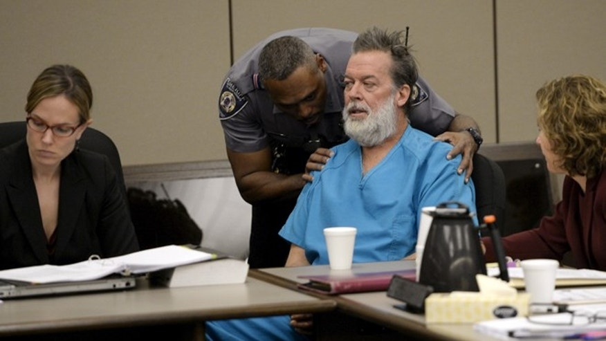 DEC. 9: Robert Lewis Dear, 57, is accused of fatally shooting three people at a Planned Parenthood clinic in Colorado on Nov. 27.