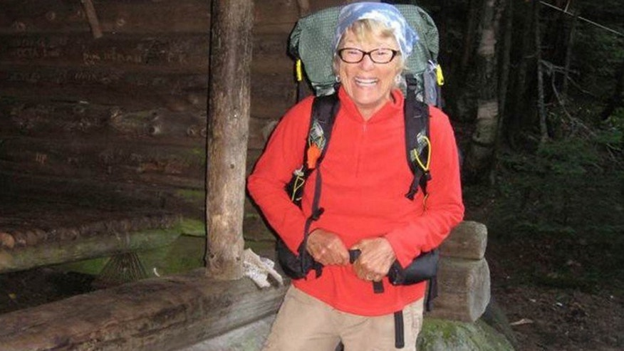 This undated photo shows Geraldine Largay, who disappeared from the Appalachian Trail in July 2013 and was found dead in October 2015
