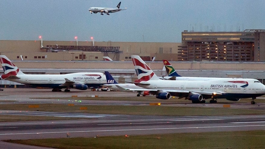 Heathrow Airport in 2014.