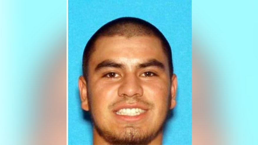 This undated photo provided by the California Highway Patrol shows Fernando Castro. Castro is the subject of an Amber Alert as law enforcement agencies in Northern California were frantically searching Thursday, May 26, 2016, for a 15-year-old girl, Pearl Pinson, whom a witness reportedly heard screaming for help as a young man dragged her across a freeway overpass. (California Highway Patrol via AP)