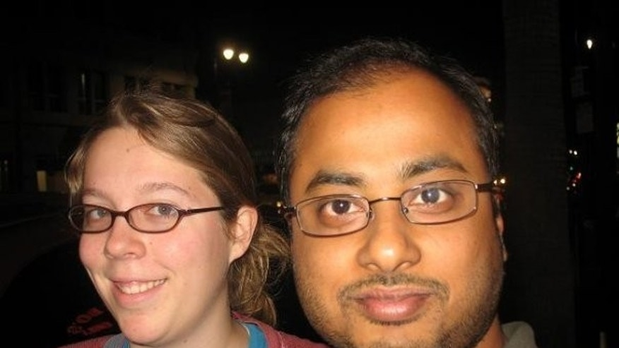 "This undated photo shows Ashley Hasti, left, and Mainak Sarkar, who police say carried out a murder-suicide at the University of California, Los Angeles on Wednesday, June 1, 2016. Sarkar had a ""kill list"" with multiple names that included professor Bill Klug, Hasti who was found dead in a Minneapolis suburb and another UCLA professor who was not harmed, a law enforcement official with knowledge of the investigation told The Associated Press. (Facebook via AP)"