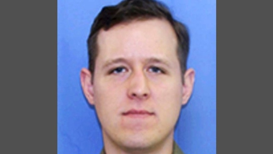 This photo released by the Pennsylvania State Police shows Eric Matthew Frein, 31, of Canadensis, Pa.
