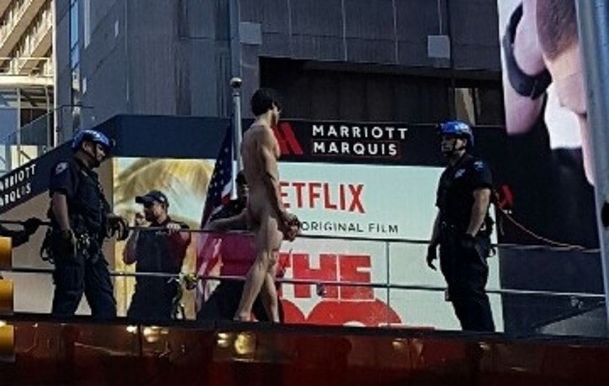 times square naked man 630