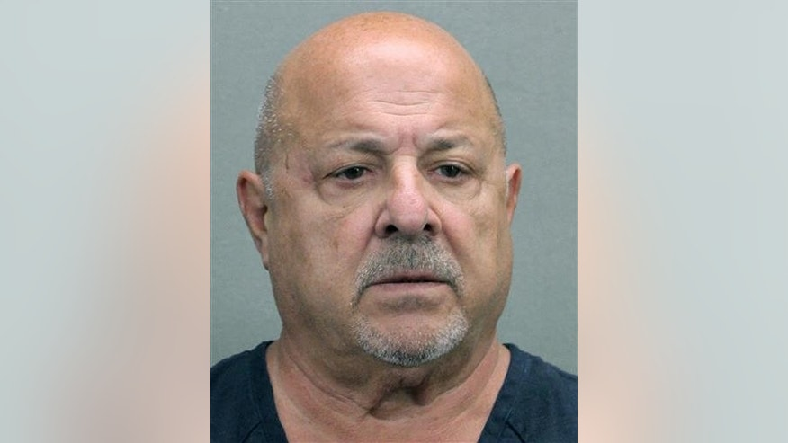 This booking photo released by the Broward County Sheriff's Office shows Robert Paul DeLuca, arrested on June 27, 2016, and waived his right to a hearing on obstruction of justice charges in Fort Lauderdale, Fla.