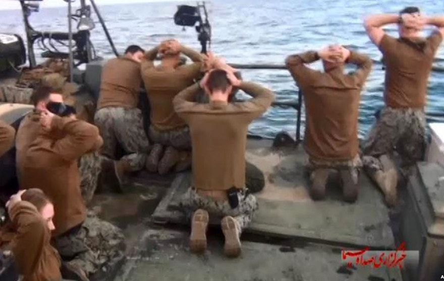 iran captured sailors 623
