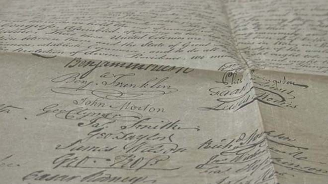 Las Vegas collector stumbles on historic copy of Declaration of Independence | Fox News