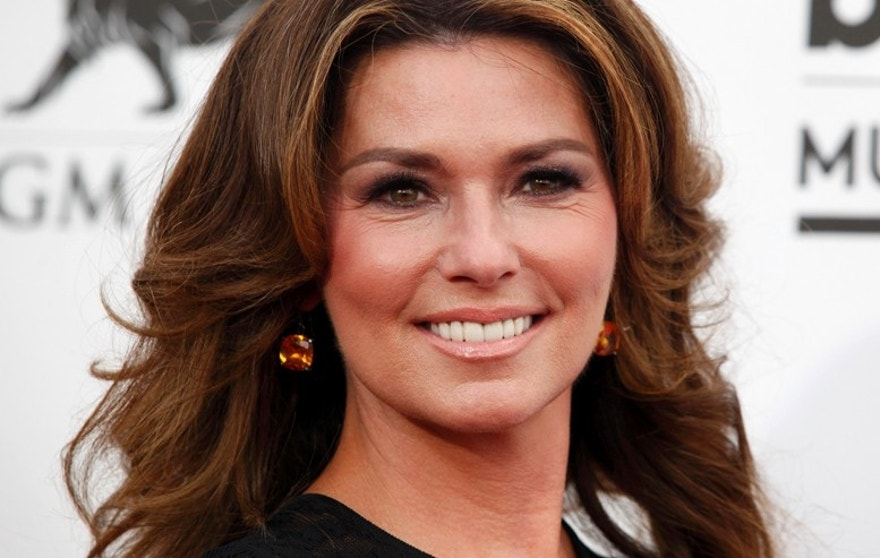 Country singer Shania Twain arrives at the 2014 Billboard Music Awards in Las Vegas, Nevada May 18, 2014.
