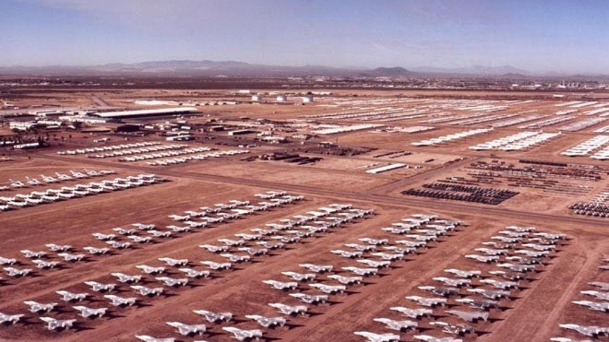 Planes kept at a military base in Arizona are being refurbished amid the shortage.