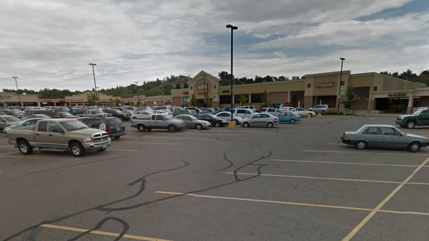 Police said they caught the suspect at a shopping center in Colorado Springs.