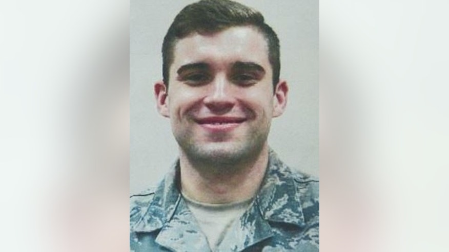 This undated photo provided by Aviano Air Base shows Air Force Staff Sgt. Halex Hale. The U.S. Air Force is searching for Hale, 24, of Middletown, Indiana who is assigned to the 31st Fighter Wing at Aviano Air Base, who vanished last week in Italy.  (Aviano Air Base via AP)