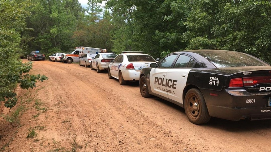 July 9, 2016: Emergency personnel respond to a hostage situation in Randolph County, Ala.