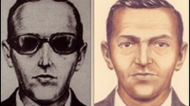 These sketches provided by the Federal Bureau of Investigation show suspected hijacker D.B. Cooper.