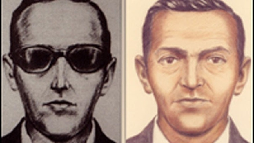 Undated sketches of D.B. Cooper.