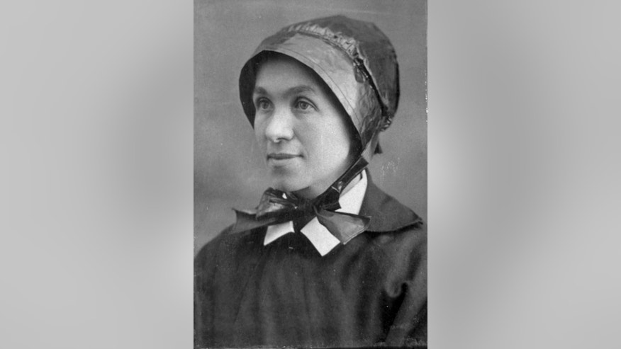 This undated photo provided by People of God/Photo Archive Palace of the Governors shows Sister Blandina Segale. An Albuquerque production company is scheduled Wednesday, July 13, 2016 to announce a new project about Segale, an Italian-born nun who once challenged Billy the Kid and later opened New Mexico hospitals and schools. (People of God/Photo Archive Palace of the Governors via AP)