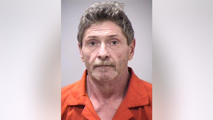 This undated photo provided by the Kalamazoo Sheriff's Department shows Charles Pickett Jr. Police reports say, Pickett, accused of plowing his pickup truck into a group of Michigan bicyclists on June 7, 2016, killing five, took pain pills and muscle relaxers in the hours before the crash. (Kalamazoo Sheriff's Department via AP)