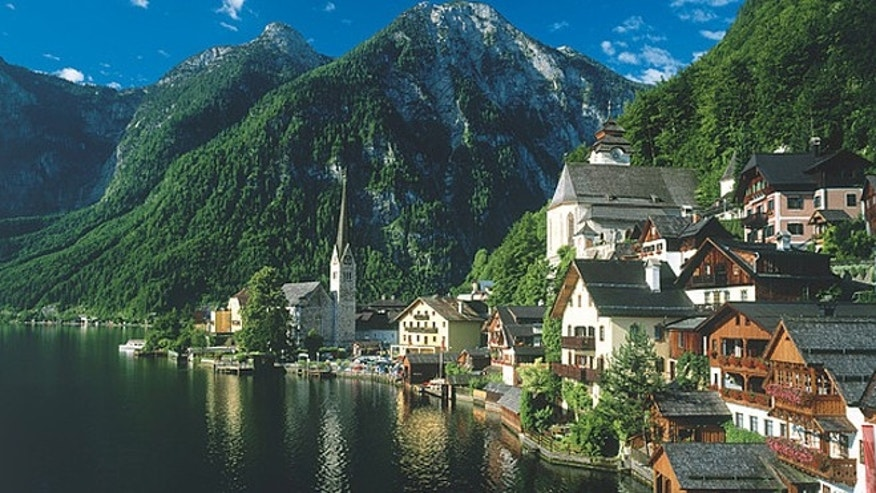 The popular tourist village of Hallstatt, Austria. (Austrian National Tourist Office)