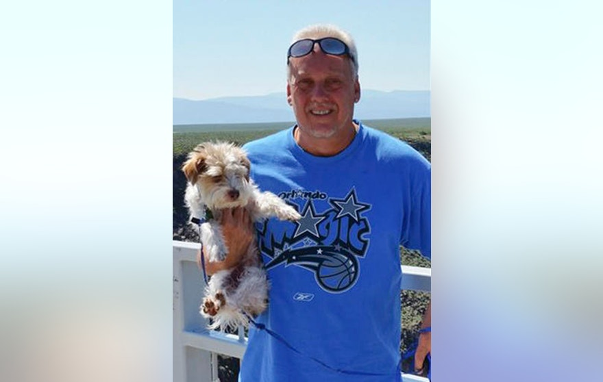 FILE - This June 2015 photo provided by Linda Bilyeu shows her ex-husband Randy Bilyeu during a visit to northern New Mexico. The Colorado man disappeared in early January 2016 while searching for a $2 million cache of gold and jewels in northern New Mexico, and has been found dead in the wilderness west of Santa Fe, New Mexico. (Courtesy of Linda Bilyeu via AP, File)