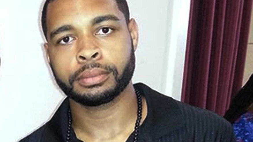 April 30, 2016: This photo shows shows Micah Johnson, who killed five law enforcement officers in Dallas the night of July 7.