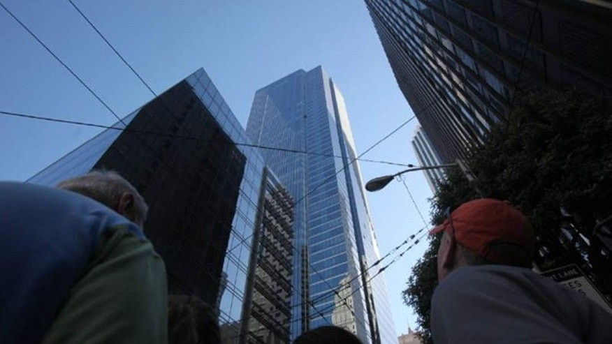 Sept. 6, 2010: The Millennium Tower on Mission Street in San Francisco.