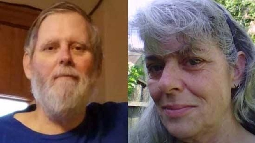 Investigators said Ellis Vogt, left, disappeared with an unidentified woman on Saturday.