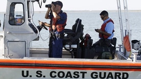 Oct. 7: U.S. Coast Guard patrols on Falcon Lake, a lake that straddles the U.S. Mexico border, where where Coloradan David Hartley is still missing.