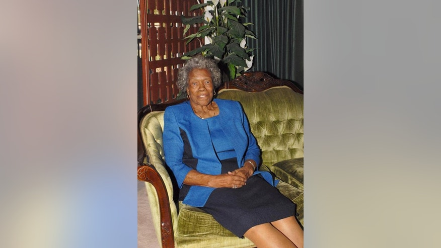 This photo provided by the family of Stella Parson, shows Parson, the first black woman to graduate from college in the state of Nevada.  Parson passed away at 86 on July 29, 2016. A memorial service was planned in Las Vegas on Friday, Aug. 5, 2016. Parson earned a bachelor's degree in English from the University of Nevada, Reno in 1952 at a time most of the nation was still segregated. (Courtesy of Stella Parson Family via AP).