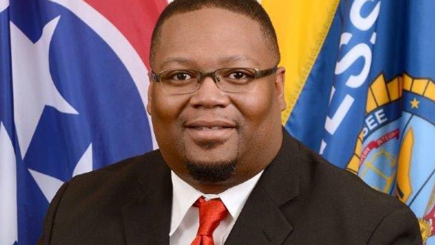 This undated photo shows Tennessee Bureau of Investigation Special Agent De'Greaun Frazier, who was shot and killed during an attempted drug bust Tuesday, Aug. 9, 2016