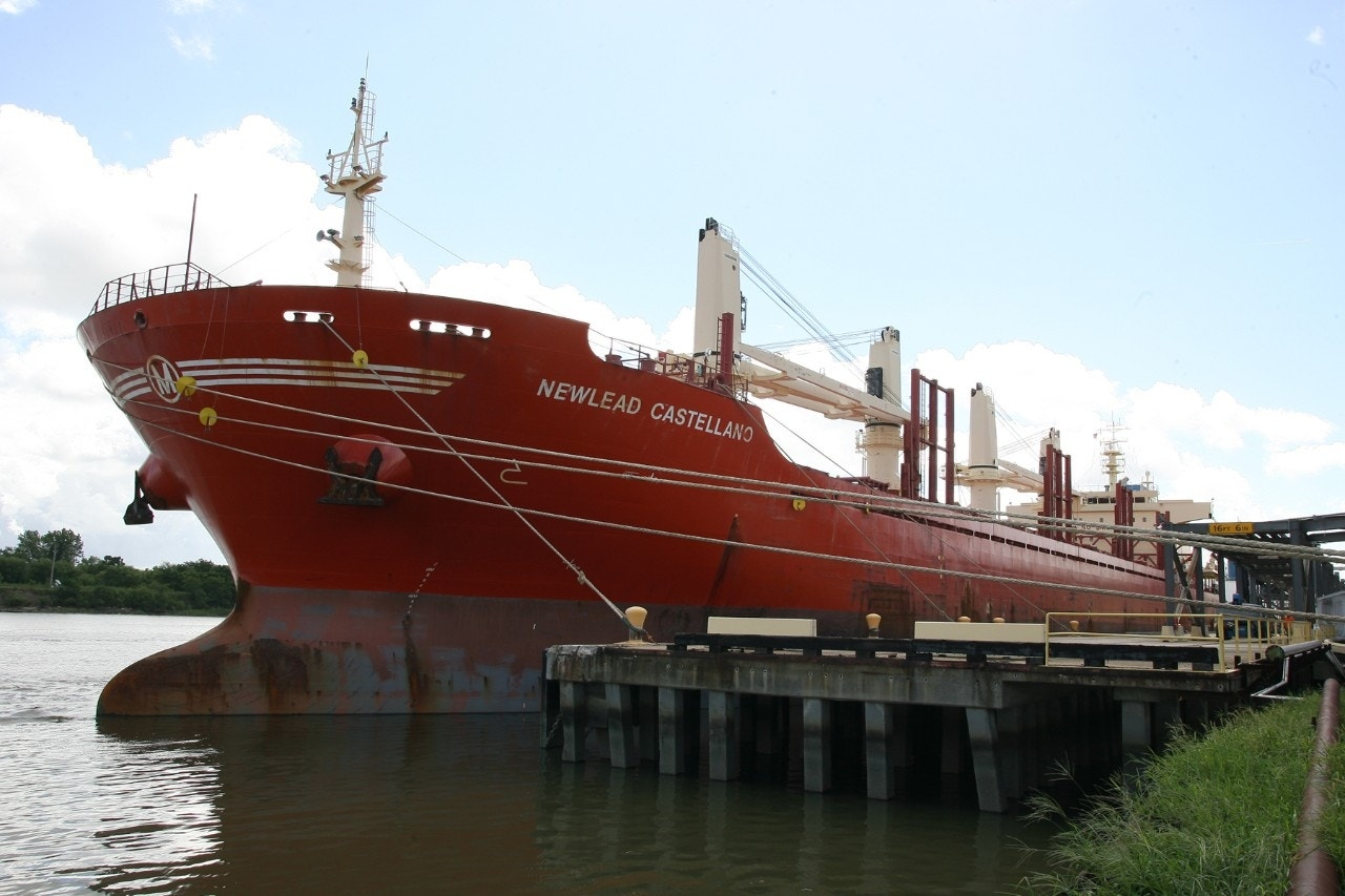 Crew stuck on cargo ship for months within sight of Georgia in legal fight
