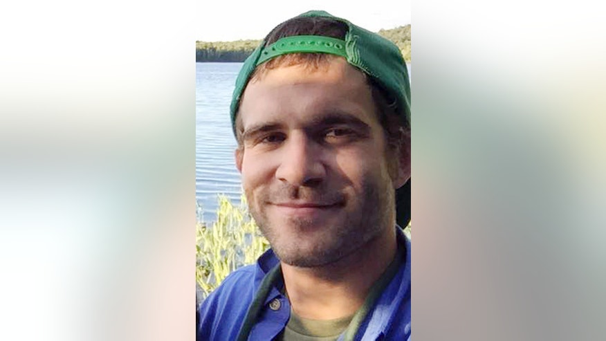 This July 2015 photo provided by Jessica Beebe shows a selfie made by her brother Justin Beebe in the Adirondack Mountains in N.Y. Forest Service spokeswoman Ronda Bishop said Monday, Aug. 15, 2016, that Beebe, a firefighter from Bellows Falls, Vt., was killed while battling a wildfire near Great Basin National Park, about 200 miles northeast of Las Vegas near the Nevada-Utah line. He was 26. (Justin Beebe via AP)