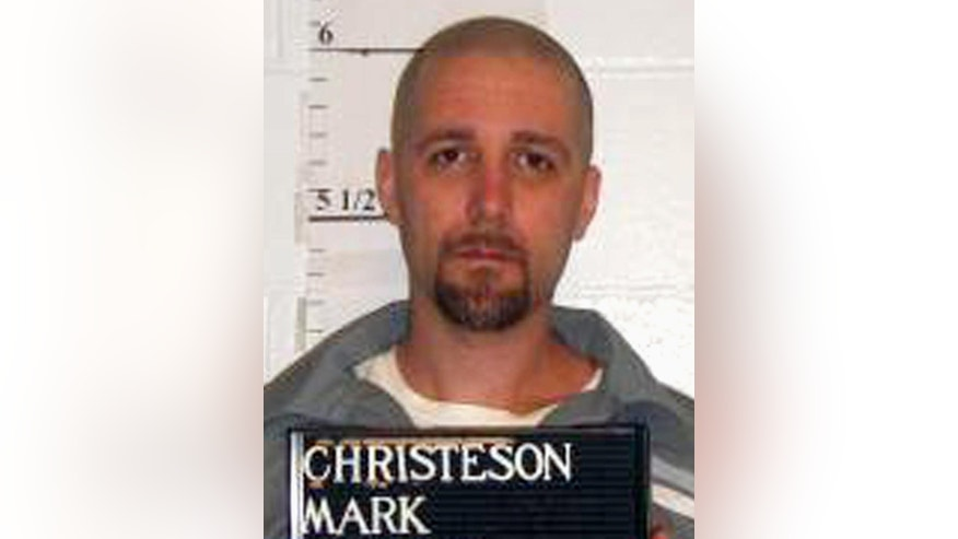 FILE - This April 21, 2014 file photo provided by the Missouri Department of Corrections shows Mark Christeson. Three national criminal defense associations, a civil rights law firm and the American Bar Association have all filed amicus briefs in support of Christeson, a Missouri death row inmate. The Supreme Court ordered that new attorneys be appointed after halting his execution in 2014, but the defender groups and the ABA say that appointment is meaningless because a district court refused to provide adequate funding for the new lawyers. A district court agreed to provide $10,000; the attorneys had sought $161,000. (Missouri Department of Corrections via AP, File)