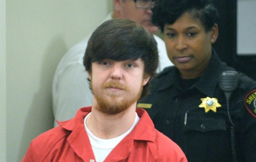 "Ethan Couch is brought into court for a hearing at Tim Curry Justice Center in Fort Worth, Texas, Wednesday, April 13, 2016.  The judge ordered Couch, the Texas teenager who used an ""affluenza"" defense in a fatal drunken-driving wreck, to serve nearly two years in jail. (Max Faulkner/Star-Telegram via AP, Pool)"