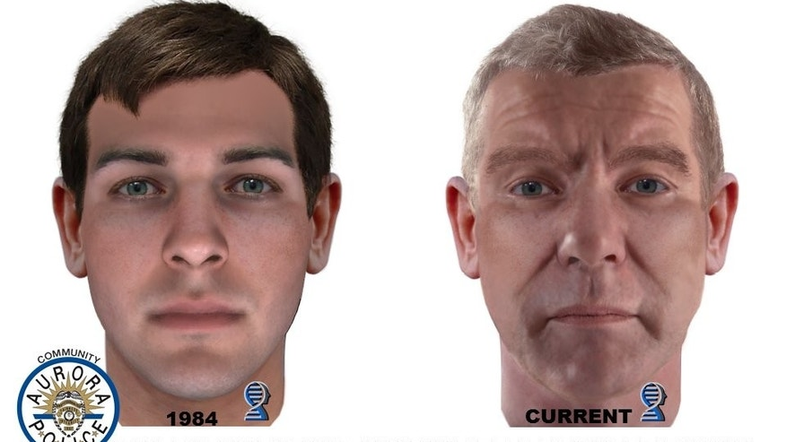 DNA composite images of suspect in the 1984 murders of a Colorado family. (Aurora Police Department)