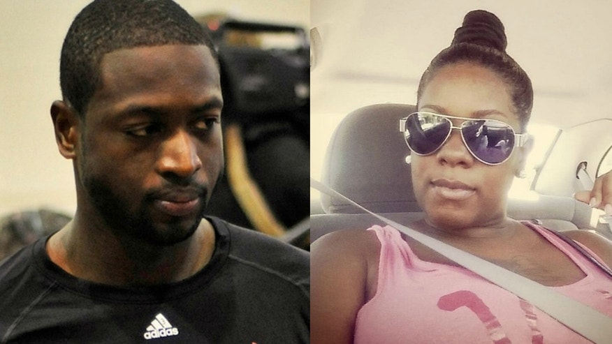 These undated photos show Chicago Bulls forward Dwyane Wade and his cousin, Nykea Aldridge, who was killed Friday, Aug. 26, 2016