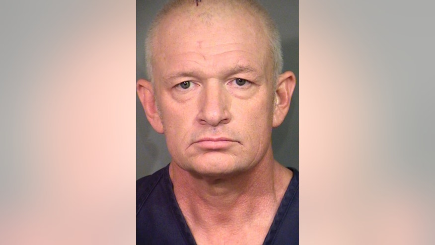 This undated photo provided by the Clark County Detention Center shows Alexander Montagu-Manchester. Police say he identifies himself as British royalty, with the title of the 13th Duke of Manchester. He's jailed in Las Vegas ahead of court hearings Tuesday, Aug. 29, and Wednesday, Aug. 30, 2016, on separate felony burglary and false police report charges that could put him in prison for up to 14 years. He also faces a driving under the influence of drugs charge from 2015. (Clark County Detention Center via AP)
