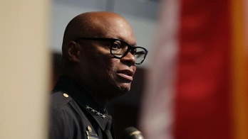 Dallas Police Chief David Brown answers questions during a news conference, Monday, July 11, 2016, in Dallas. Five police officers were killed and several injured during a shooting in downtown Dallas last week.  (AP Photo/Eric Gay)