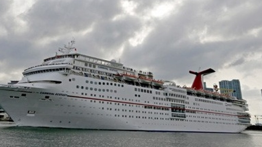 The Carnival Ecstasy in 2015.