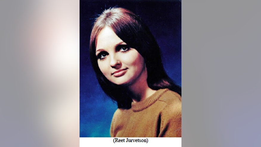 This undated photo released by the Los Angeles Police Department shows Reet Jurvetson, a 19-year-old Canadian woman found savagely stabbed to death in Los Angeles in 1969 near the site of the most notorious Manson family killings. The LAPD released sketches Friday, Sept. 9, 2016 of two men they're seeking in the killing, based on an interview with a witness in Montreal, Canada in July, 2016. The sketches show how the men, possibly named 'John,' or 'Jean' in French, would have looked in 1969, when 19-year-old Reet Jurvetson's body was found stabbed 150 times. (Los Angeles Police Department via AP)