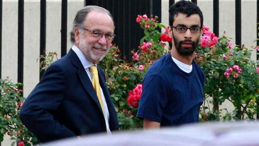 Dharun Ravi, right, and his attorney Steven Altman, left, in 2012.