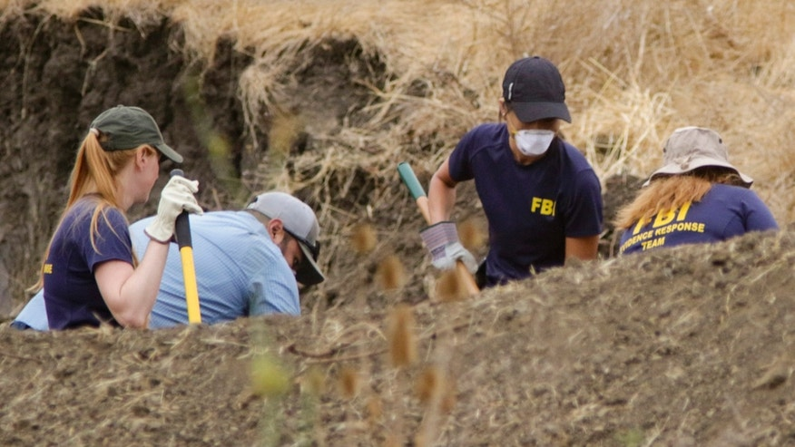 Sept. 8, 2016: The FBI and San Luis Obispo County Sheriff's Department continue their dig and investigation on the hillside above Cal Poly related to the disappearance of student Kristin Smart two decades ago