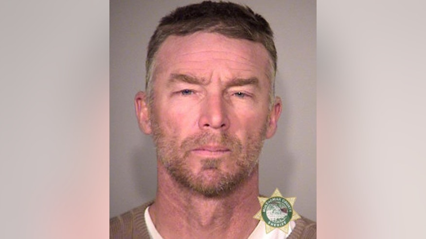 FILE--This Jan. 27, 2016, photo provided by the Multnomah County Sheriff's Office shows Jeff Banta. Banta and six others are set to go on trial nine months after the armed occupation of a wildlife refuge in Oregon. Government prosecutors are expected to begin opening statements Tuesday, Sept. 13, 2016, at the federal courthouse in Portland, Ore. (Multnomah County Sheriff via AP, file)