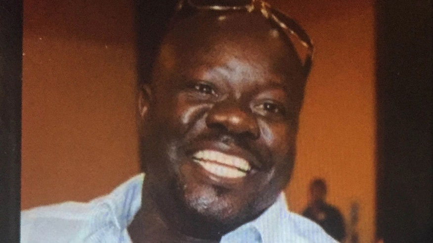 This undated cellphone photo released by Dan Gilleon, the attorney for the family of Alfred Olango, shows Alfred Olango, the Ugandan refugee killed Tuesday, Sept. 27, 2016, in El Cajon, Calif.