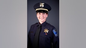 FILE - This undated file photo provided by the Tulsa Oklahoma Police Department shows officer Betty Shelby. Police say Tulsa officer Shelby fired the fatal shot that killed Terence Crutcher on Sept. 16, 2016. Shelby's attorney Scott Wood said Thursday, Sept. 29 that she was so hyper-focused on the situation that she didn't hear other officers arrive on the scene or even the deadly gunshot she fired from her handgun. Officer Shelby is expected to enter a not-guilty plea at her arraignment on Friday. (Tulsa Police Department via AP, File)